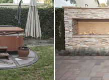 Before And After Backyard Remodel