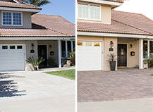 Before And After Pool Paver Transformation And Design