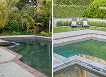 Pool Paver Remodel With Turf And Landscape Design