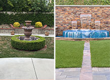 Before And After Water Feature Design