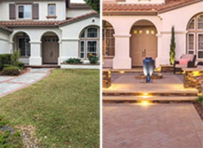 Before And After Front Patio