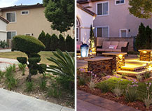 Before And After Front Walkway Transformation