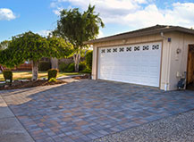 Paving Stone Driveway For Two Car Garage