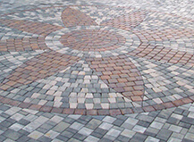 Custom Circular Patio Paver Design