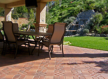 Comfortable Patio Paver Stone Ideas For Your Sitting Area