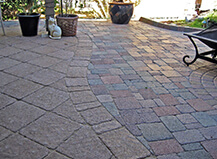 Traditional Style Multi Mix Patio Pavers