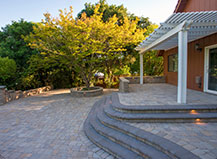 Personalized Paver Patio And Step Design