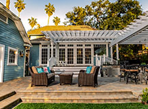 Patio Pavers Design With Outdoor Living Area