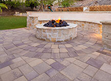 Multi-Pattern Paver Patio
