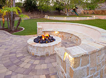 Custom Designed Natural Tone Patio Paver