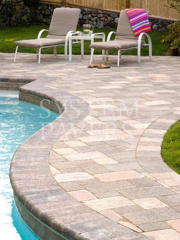 Pool pavers swimming pool deck pavers for Best pavers for pool deck