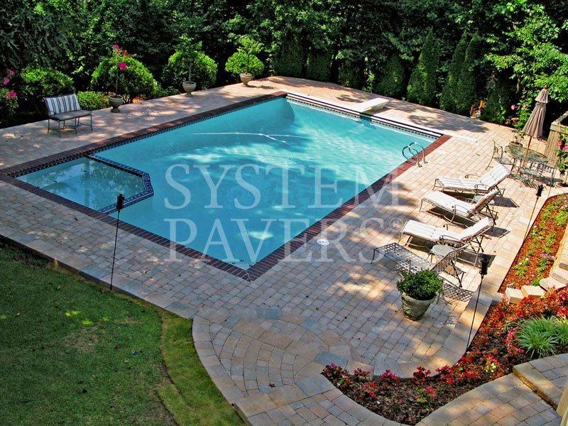 Pool Pavers Swimming Pool Deck Pavers