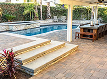 Pool Paver With Patio Design