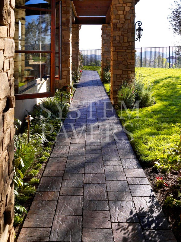 Ideas Paver Steps Stairs Walkways Paving Stones Walking Paths Outdoor Stone Design