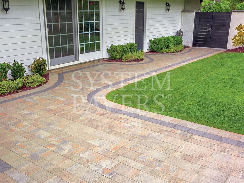 Walkway Pavers Design Installation Services System Pavers