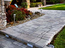 Paving Stone Walkways And Steps