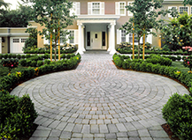 Circular Walkway Pattern Ideas San Mateo