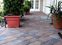 Brick Colored Taylor Walkway