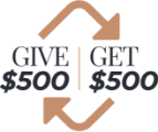 Give $500 Get $500
