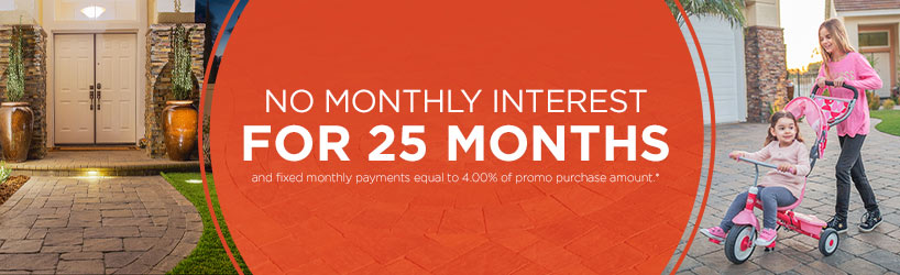 25 Month Special Financing
