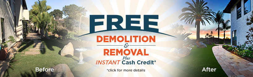 Free Demolition & Removal