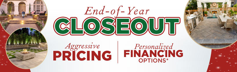 Year End Closeout and Aggressive Pricing