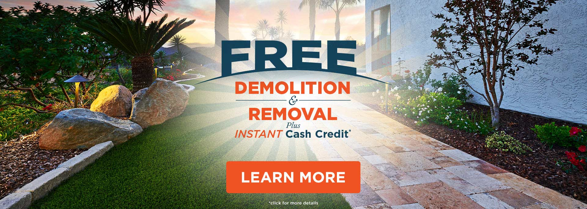 Free Demolition and Removal