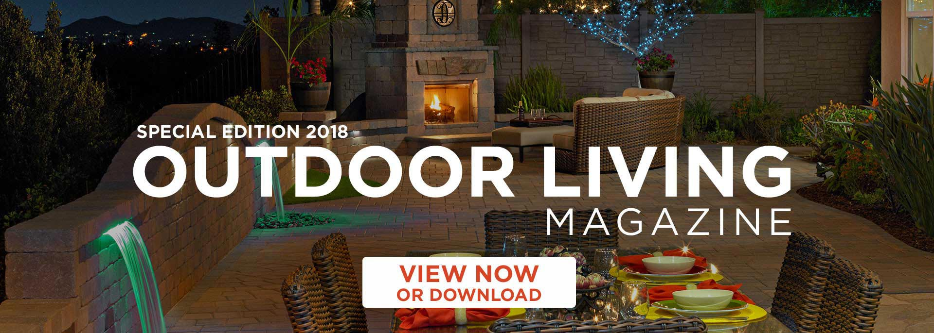 Outdoor Living Magazine by System Pavers