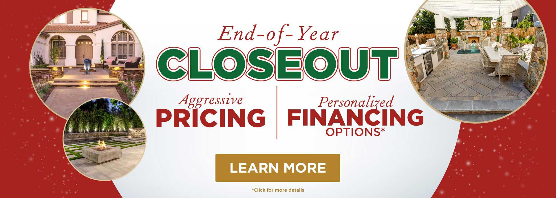 End of Year Closeout Deal and Special Offers
