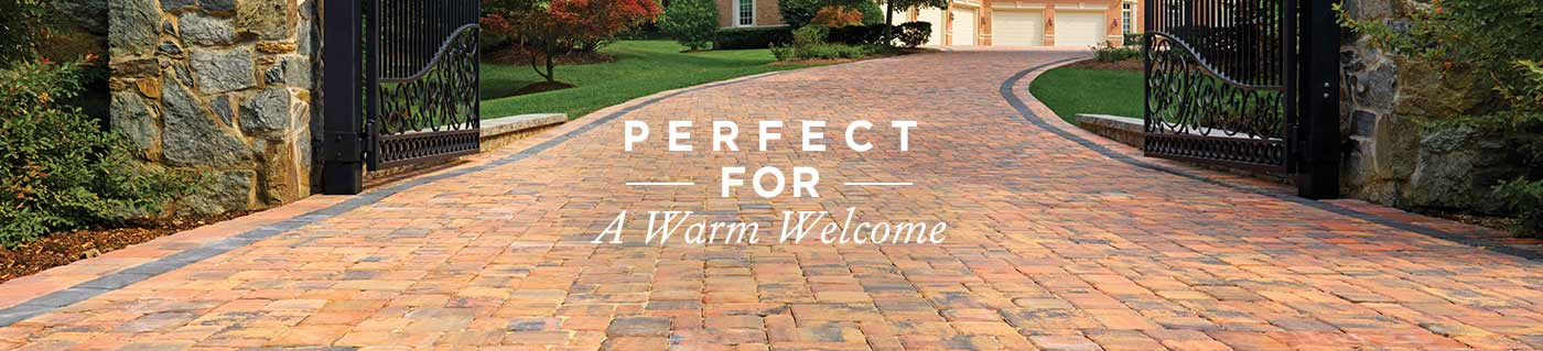 Beautiful and durable driveways pavers.