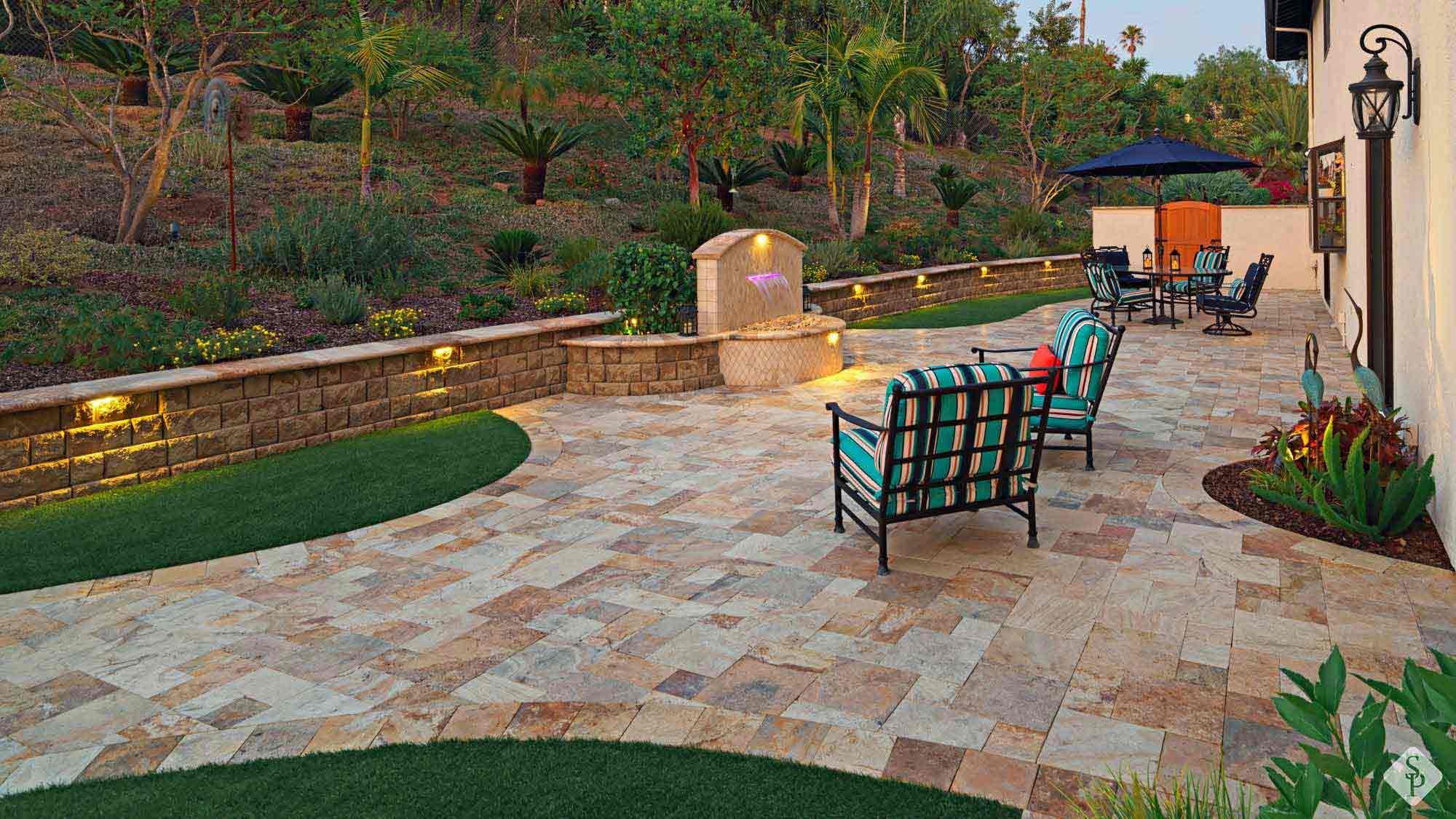 With an outdoor paver patio, creating lifelong memories will be easy to do right in the comfort of your own backyard.
