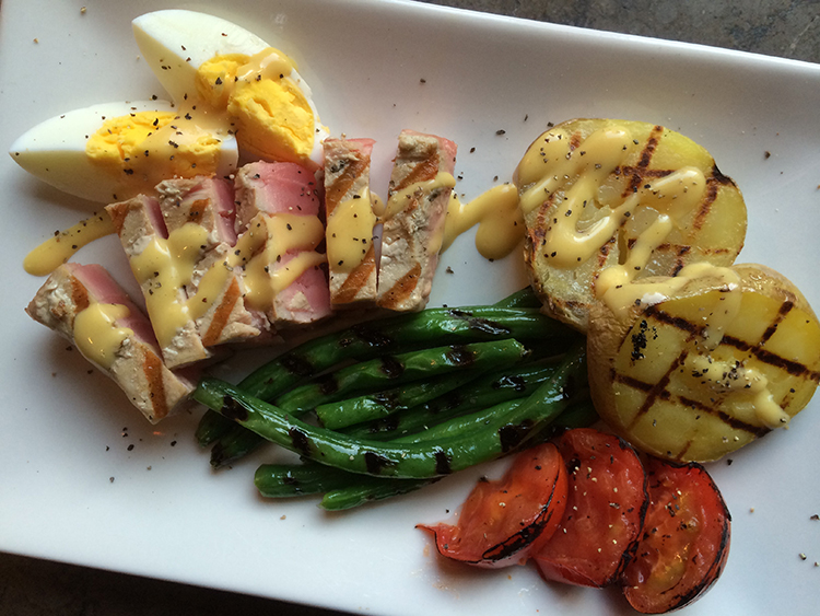 Grilled (& Deconstructed) Salad Nicoise