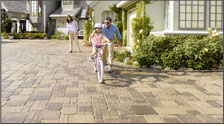The beauty of paving stones installed by System Pavers